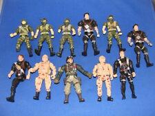 11 Military Figures Corps GI Joe Army Lot #3