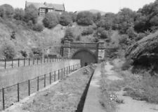 PHOTO  WEST PORTAL OF THE TUNNEL AT BARRY ISLAND ON 24TH MAY 1985 1 OF 2