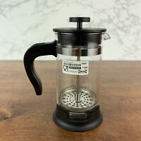 IKEA UPPHETTA French press coffee maker, glass, stainless steel
