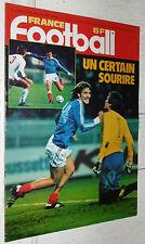 FRANCE FOOTBALL 1754 20/11 1979 FRANCE-CSSR 2-1 PEYROCHE PSG PARAGUAY