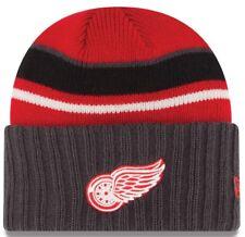 Detroit Red Wings New Era NHL Prep Class Cuffed Knit Hat