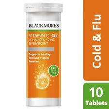 Blackmores Vitamin C 1000 Echinacea + Zinc Effervescent Tablets 10 Pack