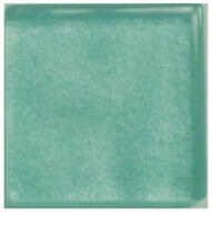 Glass Mosaic Tiles -  ROBIN EGG BLUE METALLIC - 3/4 inch - 20 count