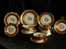 Vintage 32 pc. La Petite 22K Gold China
