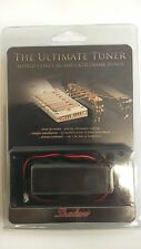 Shadow Humbucker Pickup Ring Tuner Flat Top Black SHHBTFTBK