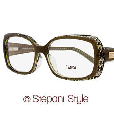 Fendi Rectangular Eyeglasses F931 312 Size: 52mm Musk 931