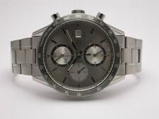 TAG HEUER CARRERA CV2011.BA0786 STAINLESS STEEL AUTOMATIC CHRONOGRAPH MENS WATCH