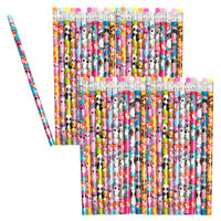 48pk Ty Beanie Boos Number 2 Pencils Assorted Fun Characters School Supplies