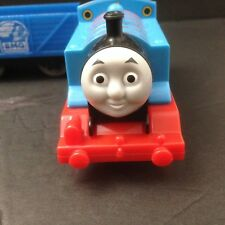 'Thomas' Mattel Plastic Battery Operated Train Set Of 5 pieces - Engine & 4 Cars