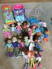 Groovy Girls collection lot 13 dolls accessories bed car clothes huge