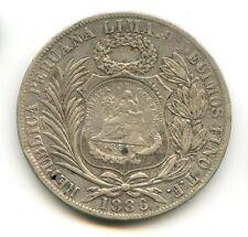 GUATEMALA REPUBBLICA PESO ARGENTO (1894) CONTRASSEGNO KM 224