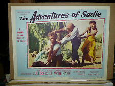 THE ADVENTURES OF SADIE, orig 1955 LC #7 (Joan Collins, Kenneth More)