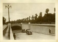 """""""PASSAGE SOUTERRAIN à PORTE DAUPHINE 1931"""" Photo originale G. DEVRED (Agce ROL)"""