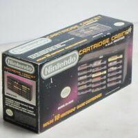 Nintendo NES Game Cartridge Cabinet Model ES-1800 Rare COMPLETE CIB VTG NEW