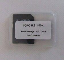 Garmin TOPO U.S. 100K maps - microSD/ SD V.5   010-C1098-00