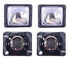 2x Scheinwerfer Fernlicht Abblendlicht H4 172x142mm Traktor Zetor Atlas Fendt