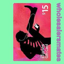 $15 Apple US iTunes Card Gift Card 15 Dollar voucher certificate -FAST DISPATCH