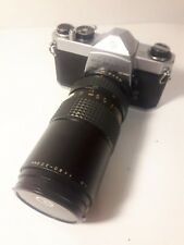 Asahi Pentax SP 1000 35mm Film Camera with Makinon 55mm 80-200mm  Lens