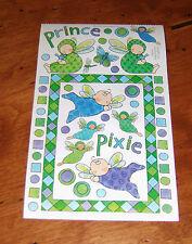 Creative Imaginations Sticker ~ Bryce & Madeline by jone hallmark.  Pixies.