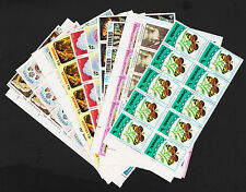 Grenada Lot of 12 Margin Blocks of 8 Mint Never Hinged