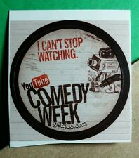 I CAN'T STOP WATCHING YOUTUBE COMEDY WEEK VIDEO GET GLUE STICKER