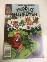 Muppets Take Manhattan # 2 (NM) Canadian Price Variant CPV ! Rare !
