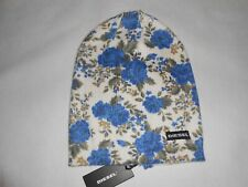 New Diesel Girls Floral design Hat  slouch beanie RRP $25