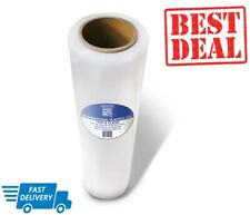 Plastic Wrap Stretch Film Clear for Moving Shipping Packing 18 In x 1100 Ft Roll