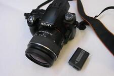 Sony Alpha A55 16MP Digital-SLR SLT Camera/FullHD Camcorder +18-55mm Lens -BLACK