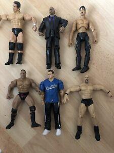 Bundle Jakks Pacific Wwe Wrestling Bundle Figures- The Rock, Shane Mcmahon,eddie