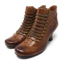 Hush Puppies Stiefel Stieflette Vivianna NEU  Braun  Gr.42 Damen Schuhe Retro