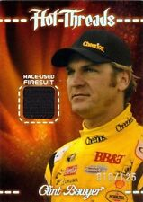 CLINT BOWYER 2010 Premium Hot Threads Holofoil Race Used Firesuit Card 10/125