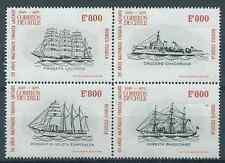 CHILE 1975 Sc.465-468 Shipwrek Ship Navy Tradition MNH