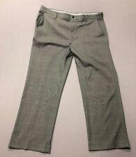 Foot Joy Golf Pants (42 x 30, Gray, Plaids & Checks, Polyester)(#102818A)