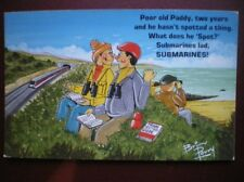POSTCARD COMIC BEEN SPOTTING FOR 2 YEARS NO SEEN 1 - WHAT IS LOOKING FOR? SUBMAR