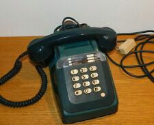 ANCIEN vintage TELEPHONE gris SOCOTEL S63 PTT old french BLEU phone ALT TELEFON
