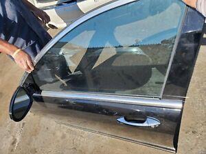2007 - 2013 MERCEDES BENZ S550 S600 S63 S65  DOOR LEFT FRONT DRIVER BLACK shell