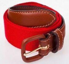 Cinturones y hebillas de niño rojos