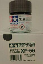 Tamiya acrylic paint XF-56 Metallic Grey 23ml