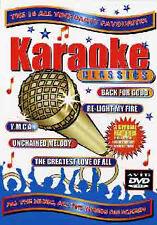 KARAOKE CLASSICS - DVD - REGION 2 UK