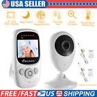Wireless Video Baby Monitor Camera 2-Way Talk Zoom 2.4' Digital Night Vision LCD