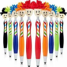 10 Mop Topper Pens Screen Cleaner Stylus Pens 3-in-1 Stylus Pen Duster