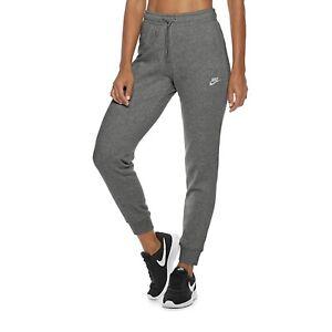 Nike Women's Sportwear Varsity Charcoal Fleece Jogger Pants CJ7719-071 Size 2XL