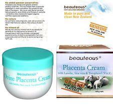 beauteous Sheep Placenta Cream with Vitamin E Lanolin Aloe Vera, 100g Anti-Aging