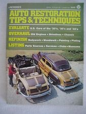 Petersen's Auto Restoration Tips and Techniques 1976 Paperback