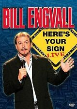 Bill Engvall - Here's Your Sign: Live (DVD, 2004) New