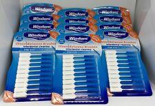 Wisdom BLUE Fine Clean Between Rubber 20 Interdental Plaque Brushes X 12 Packs