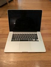 Apple MacBook Pro 15 Inch (mid 2012) Retina, i7 2.6 GHz. 16Gb RAM, 256 SSD