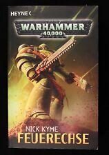Warhammer 40.000. Feuerechse Von Nick Kyme (2011 , Libro de Bolsillo)