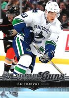 2014-15- U.D. YOUNG GUNS  ROOKIE  BO HORVAT   ROOKIE CARD VANCOUVER  HOT!!!